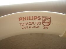 PHILIPS TL E 32w/33 Made in Japan TLE 32 W / 33 TLE32W/33 RingLampe 30 cm 30cm C