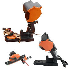 Electric Chain Saw Sharpener Grinder Chainsaw Grinder Bench Mount 4800RPM Safety