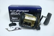 SHIMANO TLD-2SPEED 50A Conventional Reel - USED - EXCELLENT W/BOX