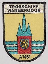 "Marine Aufnäher Patch Troßschiff ""Wangerooge"" A1451 ..........A5155"