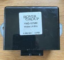 LAND ROVER FREELANDER WINDOW LIFT ECU YWC 107080
