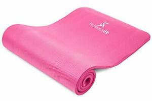 """ProsourceFit Extra Thick Yoga and Pilates Mat ½"""" 13mm 71-inch Long High Densi..."""