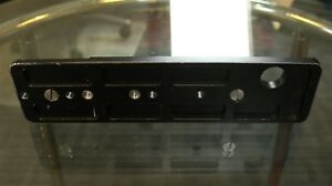 ARRI Plate Used