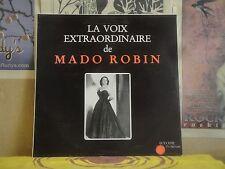 LA VOIX EXTRADORDINAIRE DE MADO ROBIN - FRENCH LP RP 12391