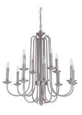 Craftmade Avery 12 Light Polished Nickel Chandelier