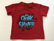 Quiksilver Toddler Boys 12 Months Short Sleeve T-Shirt