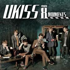 U-KISS UKISS - Moments (8th Mini Album) CD+30p Photobook+Gift Photo