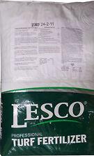 """Lesco 24-2-11 St. Augustine Lawn Fertilizer """"6% Iron"""" - 50 Lbs. (12,000 sq. ft.)"""