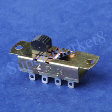 3pcs 6Way 6P3T Slide ON/ON/ON Switch 3A250V 8pin Terminal Solder Car/Boat/Amp