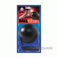 Ball N' Chain Wedding Gag Gift- Funny Gag- Bachelor and Bachelorette Party-NEW