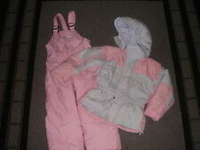 COLUMBIA VERTEX 4/5 PINK WINTER COAT SNOWPANTS SET