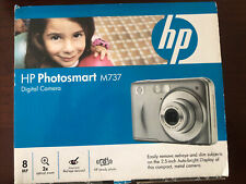 HP PhotoSmart M737 8.0MP Digital Camera - Silver New w/ Factory Seals in place