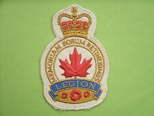Royal Canadian Legion Patch