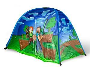 Minecraft Indoor Bed Tent Pop-Up Canopy