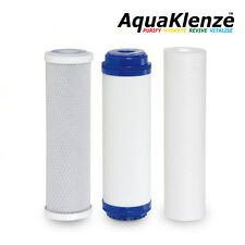 """Reverse Osmosis RO Filtration Replacement 10"""" 3 pack"""