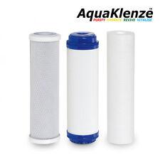 """Conjunto de reemplazo de filtro de agua 10"""" tender-sedimento SGAC/bloque de carbón activado KDF"""
