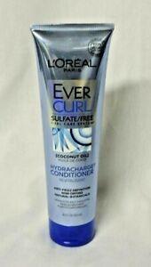 L'Oréal Paris 8.5 oz EverCurl Hydracharge Conditioner w/Coconut Oil Sulfate Free