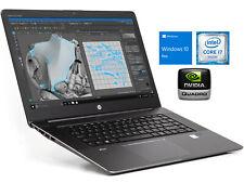 HP ZBook 15 G3 Laptop, i7-6820HQ, 8GB RAM, 128GB NVMe SSD, Windows 10 Pro