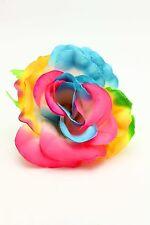 100X Artificial Flower Rainbow Rose Flower Wedding Party Decor Wholes