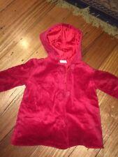 RED RIDING HOOD  ~ Velvet Feel Jacket ~ Sz 4 ~ 5 ITEMS KIDS CLOTHES = FREE POST
