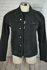 Vintage '90s GUESS JEANS Mens Black Denim HIP HOP 2 Piece Suit SIZE 42L 35x31