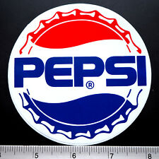 Pepsi Cap Soda Sticker Decal 3.75x3.75""