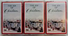 Lot 3 Cassettes The Joy Of Christmas by Various Artists fr Readers Digest Music
