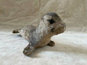 Steiff Robbe Seehund, ohne Knopf, Spielzeug