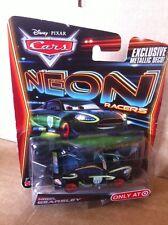 DISNEY Cars Diecast-NIGEL GEARSLEY-Neon Racers-SPEDIZIONE COMBINATA