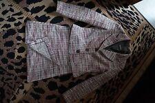 Strukturierte Damen-Anzüge & -Kombinationen aus Baumwollmischung für Business