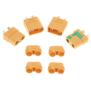 XT90 Connector Anti-Spark Male Female Connector with Housing Sheath md