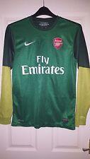 Mens Football Shirt - Arsenal - Nike - Goalkeeper 2012-2013 - Fly Emirates - S
