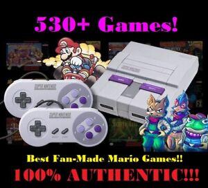 Super Nintendo Classic Mini Edition SNES System - 530+ Games! NES! BRAND NEW! 🚚