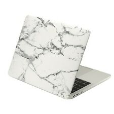 """Marble White Matte Case for Macbook Pro 15"""" A1707 With Touch Bar - Release 2016"""