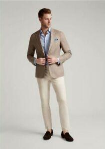 Hackett London Linen Hopsack Blazer £425 Brand New