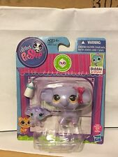 Littlest Pet Shop Mommy & Baby Elephant Set #3597-3598