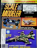 Vtg. Scale Modeler Magazine January 1981 Super Scale Ligier JSII 1979 m84