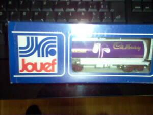 Jouef 6506 wagon citerne Cadbury NEUF avec BO