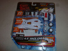 "JADA SPEED RACER SNAP N BUILD THE MACH 6 RACE CAR RARE MOC 2008 4.5"" MODEL KIT >"