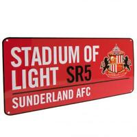 Sunderland Fc Metal Street Sign RD Red Stadium Of Light