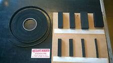 Guarnizione gomma Mousse adesiva  rettangolare di varie dimensioni