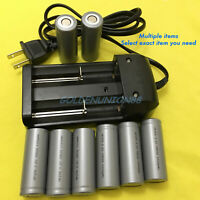 3.2V 18500 IFR LiFePO4 1100mAh battery, 1.2A two slot smart charger for choose