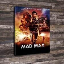 "Mad Max Boîte Imprimée Toile A1.30""x20"" - 30 mm Profond Cadre Mel Gibson"