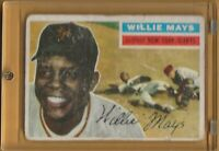 💥1956 TOPPS Baseball #130 WILLIE MAYS HOF Giants Probably a 1 or 2💥