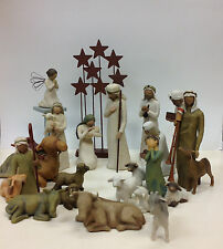 Demdaco Willow Tree Nativity Collection 22 Piece Set