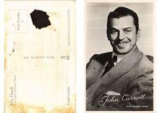 CPA John Carroll FILM STAR (556299)