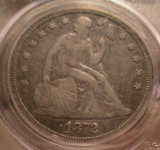 1872-s Seated Dollar PCGS VF(30) Rare date!!!!!