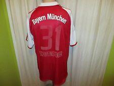 FC Bayern München Original Adidas Trikot 2003/04 + Nr.31 Schweinsteiger Gr.L- XL