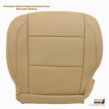 2005 2006 Front DRIVER Side Bottom LEATHER Seat Cover For Nissan Armada Tan