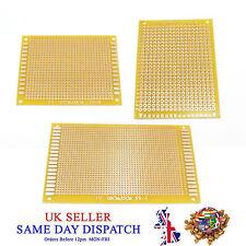 Fiberglass 5x7cm Single Sided Prototype PCB Plate Printed Circuit Matrix Board